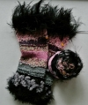 Schwarz Pink Grau 198