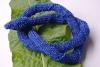 Schlangenhalsband blau